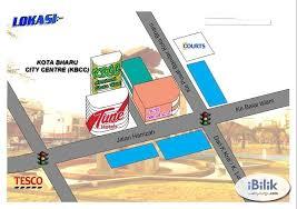 kbcc map kota bharu city centre kbcc studio hotel