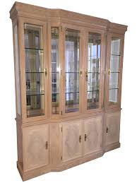 drexel heritage lit display cabinet chairish