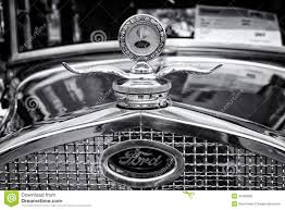 Classic Ford Truck Emblems - radiator engine cooling and the emblem of the car ford model a