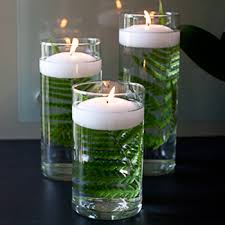 table center pieces centerpieces 36 glass cylinder vases with candle