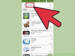 send from android how to send a fax using android 10 steps with pictures
