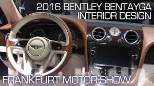 bentley suv inside designing an suv interior worthy of bentley frankfurt motor show