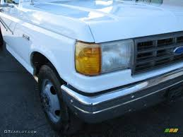 Ford F350 Dump Truck 1997 - 1990 oxford white ford f350 xl regular cab chassis dump truck