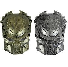 Arnold Schwarzenegger Halloween Costume Predator Mask Cosplay Arnold Schwarzenegger Movie Film Costume
