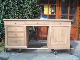 bureau chene bureau louis philippe en chêne bureau chene meuble marcelis luc