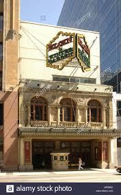 the elgin wintergarden theatre toronto ontario canada stock