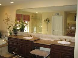 bathroom wall mirrors frameless beveled bathroom mirror best bathroom decoration