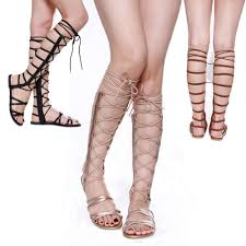 Images of Ankle High Gladiator Sandals