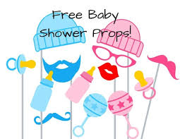 free printable photo booth props template free baby shower photo booth props baby shower ideas themes