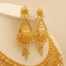 gold earrings wedding ideas splendi wedding gold earrings gold chandelier