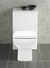 bathroom slim line furniture back to wall square pan toilet btw wc