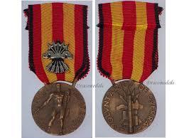 italy ww2 civil war medal affer italian 1936 1939