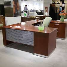 u shaped executive desk modern u shaped executive desk with metal and wood designer office