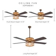 long rod ceiling fan river of goods unique custom home decor products furnishings