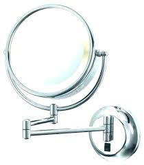 best lighted magnifying makeup mirror lighted magnified makeup mirror wall mounted fooru me