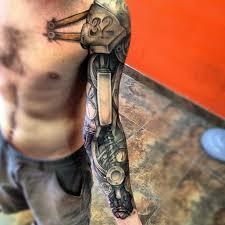 100 biomechanical arm tattoo arm tattoos and designs page