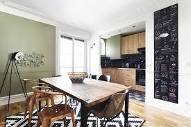rever de cuisiner appartement haussmannien industriel chic et moderne 55m2 75010