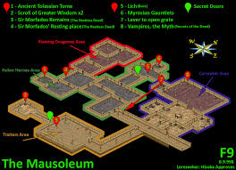 Map Of The Dead The Mausoleum Exiled Kingdoms Wiki