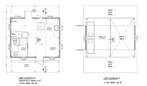 16 x 24 floor plan plans by davis frame weekend timber magnificent