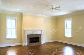 Livingroom Fireplace Unfurnished Livingroom With Fireplace Stock Photo Picture And