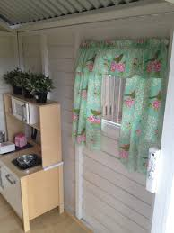 Playhouse Curtains Curtains In My Kids Cubby House Cubby Interior Pinterest