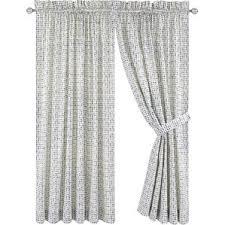 Gray And White Curtains Check U0026 Plaid Curtains U0026 Drapes You U0027ll Love Wayfair