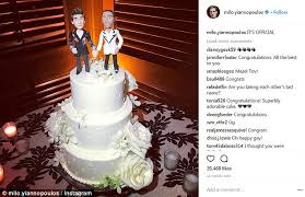 milo yiannopoulos gets married in hawaii daily mail online