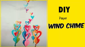 diy crafts windchime out of paper youtube