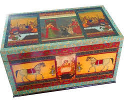 home decor holding company equesterian chest box the craft company by muna siddiqui