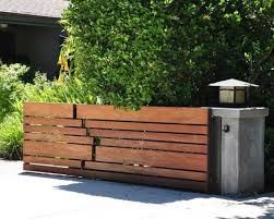 wooden fence ideas full size of front yard corner fence ideas