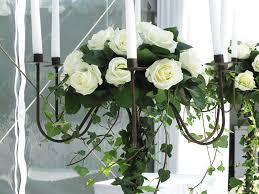 decoration florale mariage une décoration florale pour un mariage à la maison
