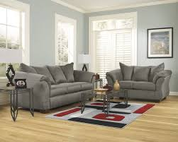 Microfiber Fabric Upholstery 2 Pc Darcy Collection
