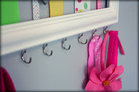 how to make a headband holder diy hair bow headband holder