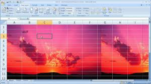 How To Create Spreadsheets In Excel Excel Tips 12 Add Background Pictures To Excel Spreadsheets