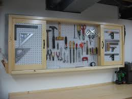 Pegboard Ideas by Workshop Pegboard Pegboard Tool Cabinet Construction For The