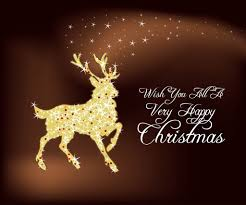 christmas deer vector art u0026 graphics freevector com