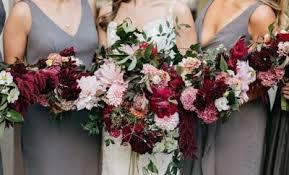 bridesmaid bouquet fall wedding bouquet hi miss puff
