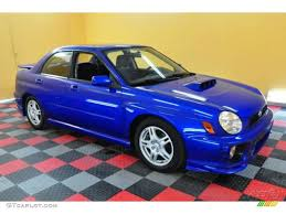 2002 wr blue pearl subaru impreza wrx sedan 26881800 gtcarlot
