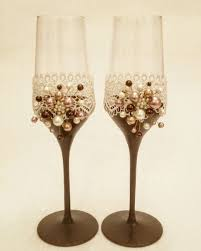 where to buy chocolate glasses buy wedding glasses chocolate symphony on livemaster online shop