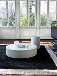 black and white round coffee table black and white photography