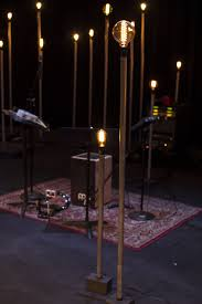 floor mounted stage lighting edison bulbs on stands stage designs pinterest bulbs stage