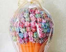 lollipop bouquet lollipop tree etsy