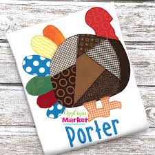 thanksgiving applique market