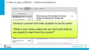 how to do an online class online learning for mooc team developers