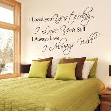 Bedroom Wall Stickers Sayings Compare Prices On Wall Decals Sayings Online Shopping Buy Low
