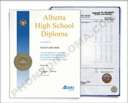 fake alberta canada fake high diploma and fake transcripts