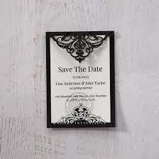 save the date wedding cards black save the date by adorn