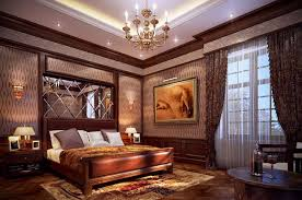 bedroom king size brown traditional stained solid wood panel bed
