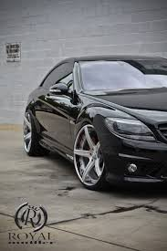lexus forgiato w216 black cl63 amg dropped on 22 inch forgiato rims with tinted
