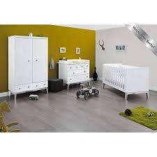 le sur pied chambre bébé chambre bébé vision blanc laqué et pied chromés